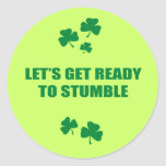 LET'S GET READY TO STUMBLE STICKERS