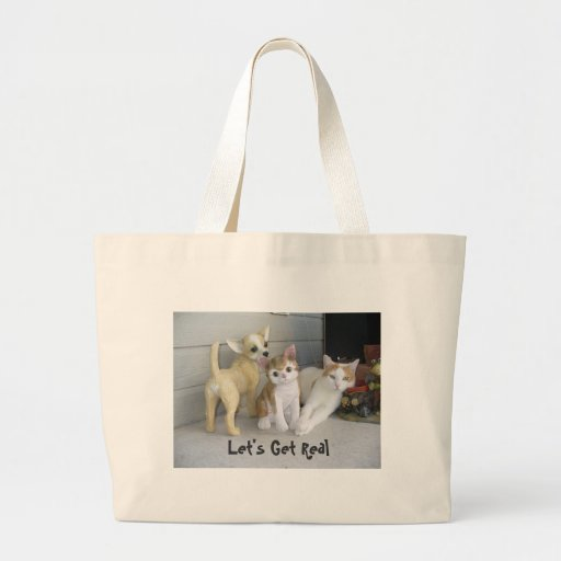 Let's Get Real Tote Bag