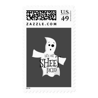 Let's Get Sheet Faced Postage
