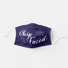 Lets Get Ship Faced Nautical Mask