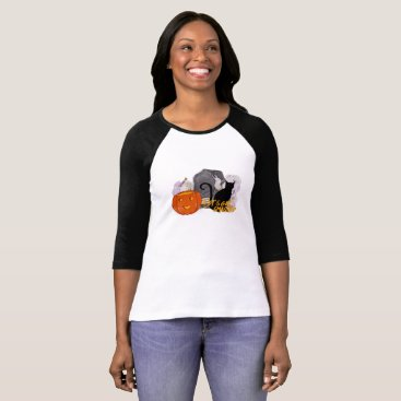 Halloween Themed Let's Get Smashed cat pumpkin scary stone candy T-Shirt