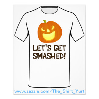 Let's Get Smashed Halloween Party Flyer
