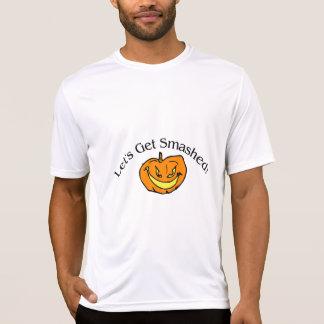 Lets Get Smashed Pumpkin Tee Shirts