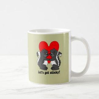 lets get stinky coffee mug