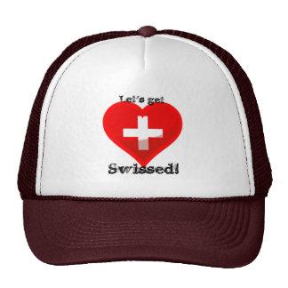 Let's get Swissed! Trucker Hat