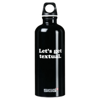 Let's get textual  SIGG traveler 0.6L water bottle
