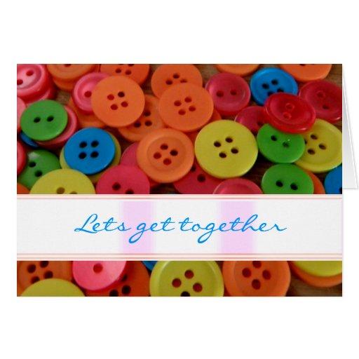 Lets get together Card