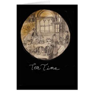 Let's Get Together For Tea Card
