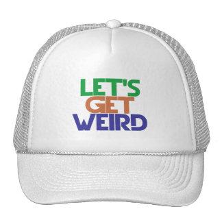 Lets get weird mesh hats