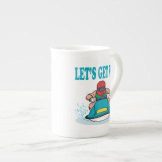 Lets Get Wet Tea Cup