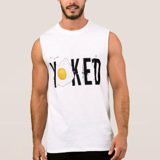 Let's get yoked sleeveless shirt
