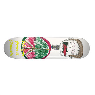 Lets Give Peace A Chance!!! Skateboard Deck