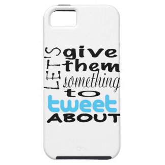 Let's give them something to tweet about iPhone 5 cases