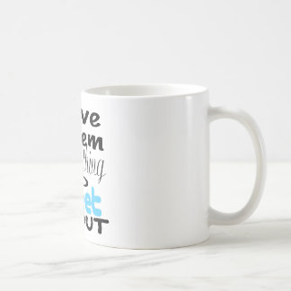Let's give them something to tweet about coffee mug