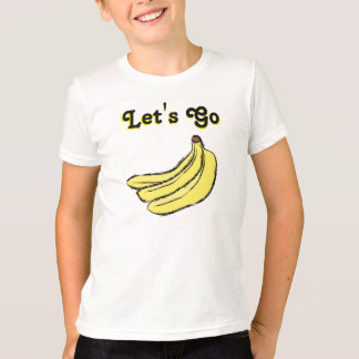 Let's go 🍌 Banana's   Lighthouse Route T-Shirt