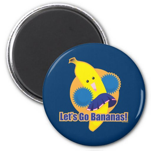 Let's Go Bananas! Magnets