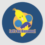 Let's Go Bananas! Sticker