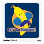 Let's Go Bananas! Wall Sticker