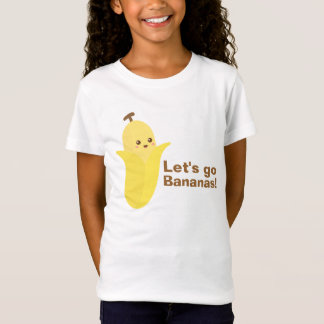 Let's go Bananas with Cute and Happy Banana T-Shirt