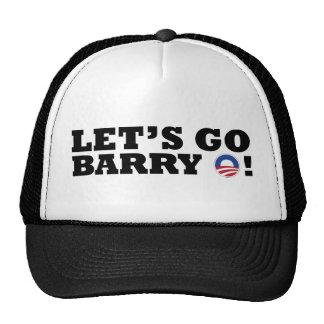 Let's go Barry O! Obama Trucker Hat