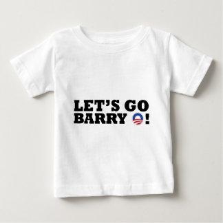 Let's go Barry O! Obama Toddler T Shirts