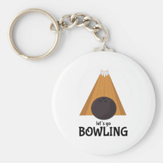 Let's Go Bowling Key Chains