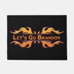 Let's Go Brandon Doormat