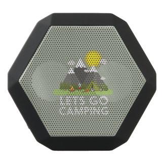 Lets go Camping Black Bluetooth Speaker