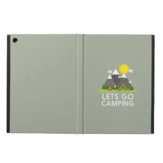 Lets go Camping Case For iPad Air