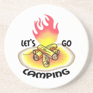 LETS GO CAMPING COASTERS