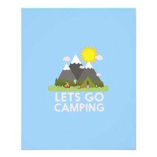 Lets go Camping Flyer