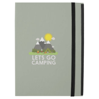 Lets go Camping iPad Pro Case