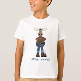 Let's Go Camping-Kids Tee