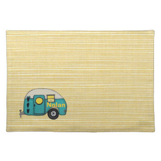 LET'S GO CAMPING  Mate Mojo PlaceMats