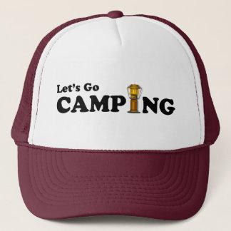 Let's Go Campng Lantern Cap