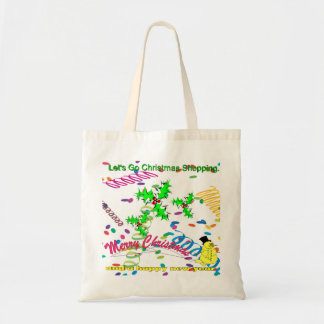 Let's Go Christmas Shopping Tote Bag