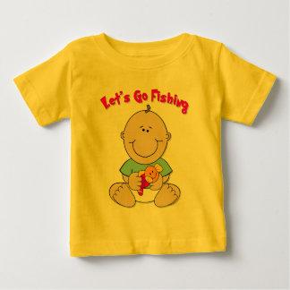 Let's Go Fishing (Boy) Tee Shirt