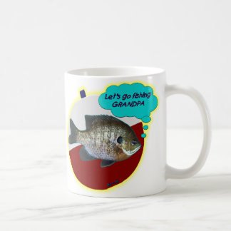 Let's Go Fishing Grandpa Coffee Mug