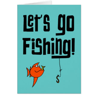 Fishing buddy cards fishing buddy card templates postage for Lets go fishing