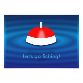 Fishing trip invitations announcements zazzle for Lets go fishing