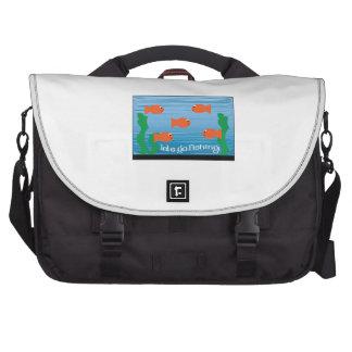 Lets Go Fishing Bag For Laptop