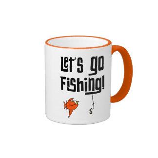 Lets Go Fishing Mugs