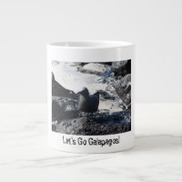 Let's Go Galapagos! Black Gull design