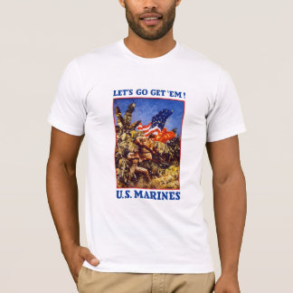 Let's Go Get 'Em! U.S. Marines T-Shirt