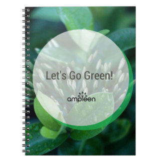 Let's Go Green! Spiral Note Book