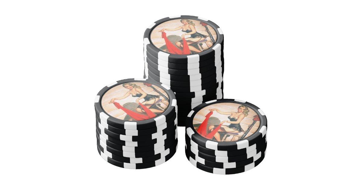 Hunting poker set
