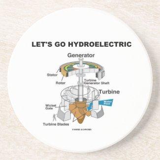 Let's Go Hydroelectric (Generator Turbine) Coasters