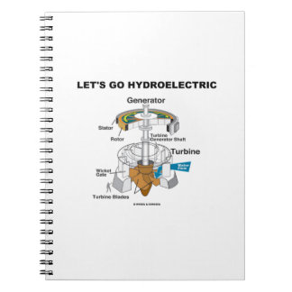 Let's Go Hydroelectric (Generator Turbine) Note Book