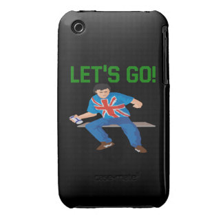 Lets Go iPhone 3 Case