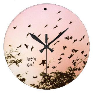 let's go! large clock